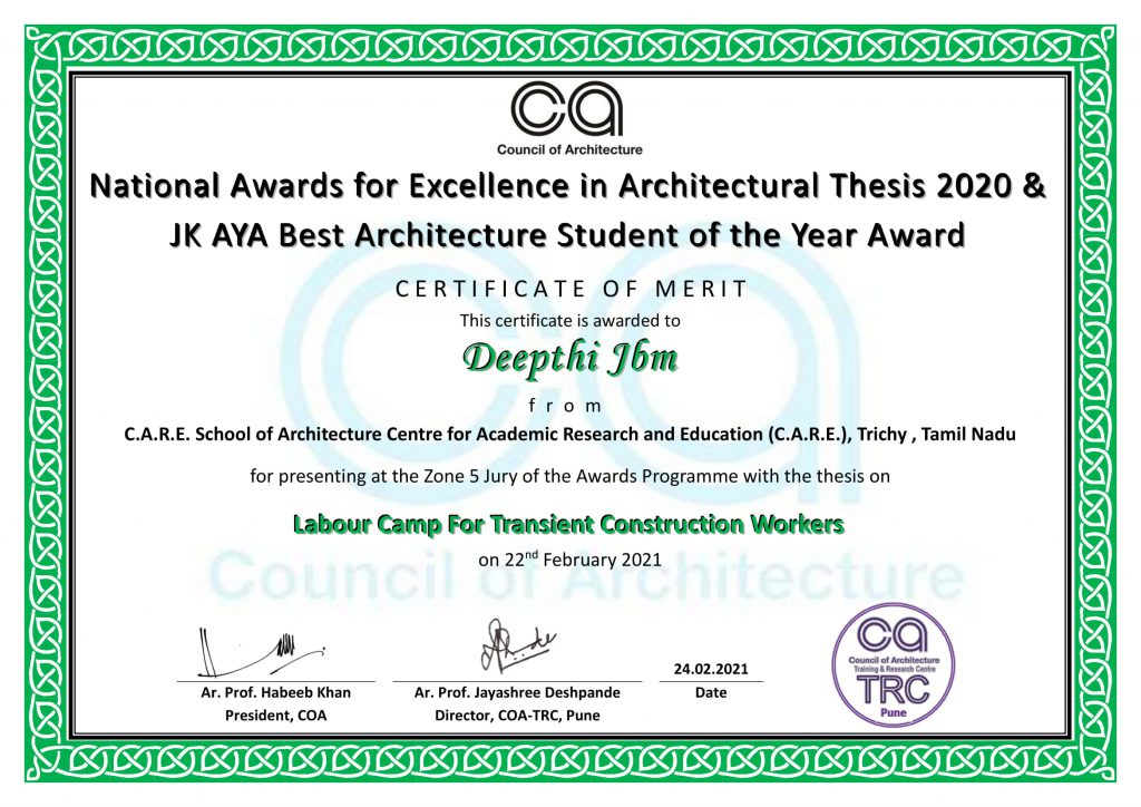 Presenters Z5 - Merit Certificate-Deepthi P