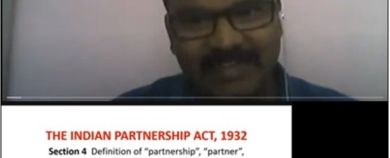 Partnership Firms – Guest Lecture