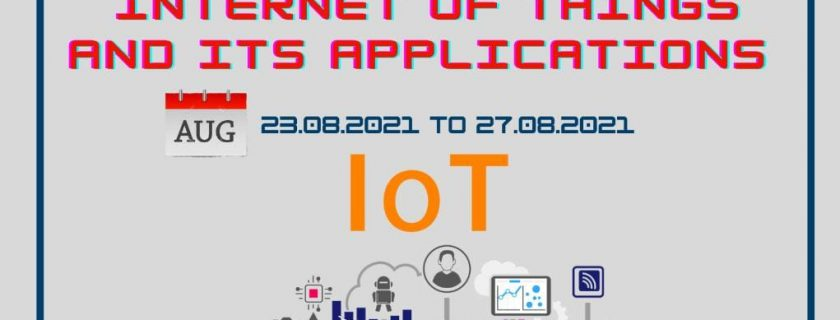 """Workshop on """"Internet of Things and its Applications"""