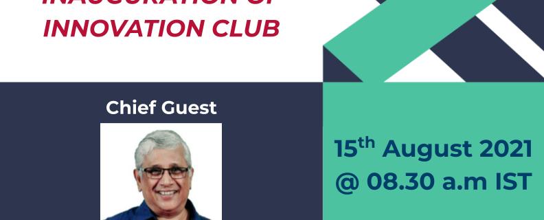Innovation Club – Inauguration
