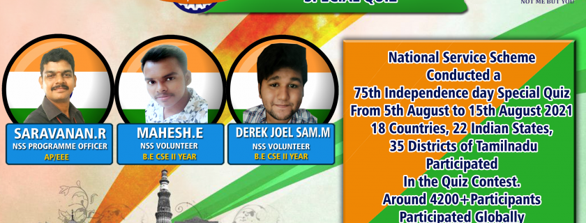 75th Independence Day Special Quiz