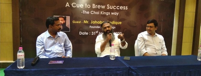 """""""A Cue to Brew Success – The Chai Kings Way"""", Start Up Trichy 28th Edition"""