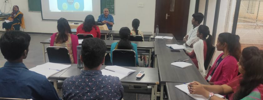 A Guest Lecture on Capacity Planning & Forecasting by Mr. B. Ananatha Narayanan