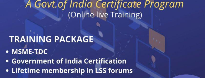 Lean Six Sigma Yellow Belt Certification