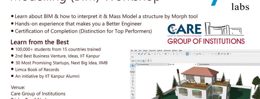 Building Information Modeling Workshop By CIVIL Simplified on 15.2.2018