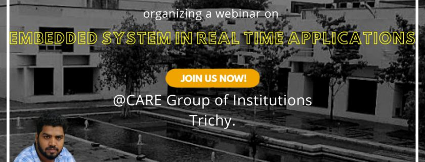 Embedded System in Real-time Applications – Webinar