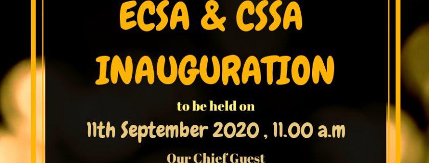 CSE & ECE Students Association Inauguration