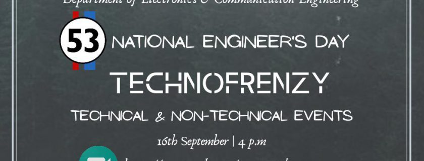 Technofrenzy – An Intra Department Conclave