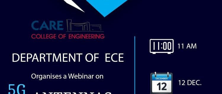 Online Webinar on 5G & RF Antennas