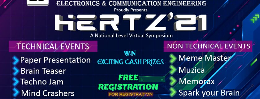 21'HERTZ – A National Level Technical Symposium