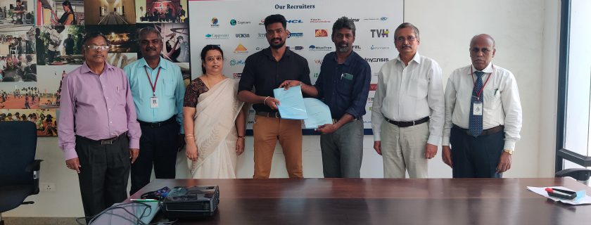 MoU Sign – Mechanical Department/CARE CoE and Frigate Engineering Services Private Limited,