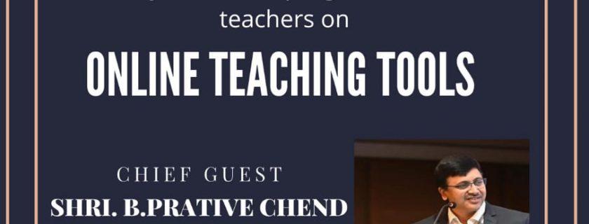 Outreach program on Online Teaching Tool